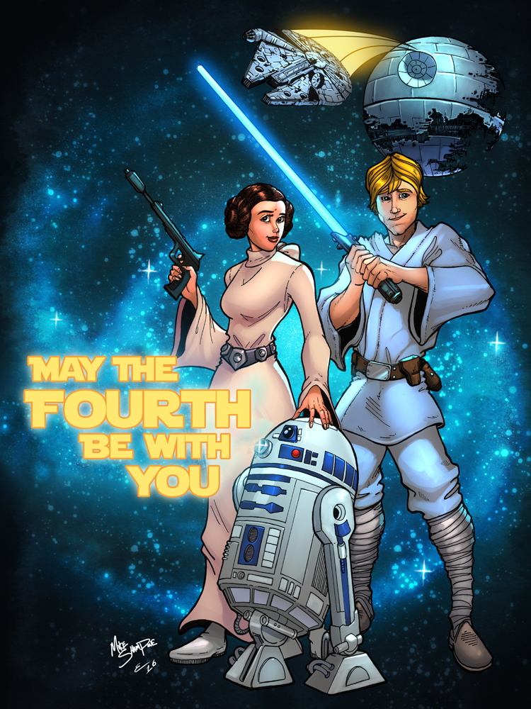 Mike Shampine - Star Wars - Maythefourthbewithyou - Small